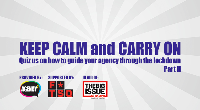 Online Q&A: Keep Calm and Carry On (Part II)